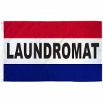 Laundromat Patriotic 3' x 5' Polyester Flag