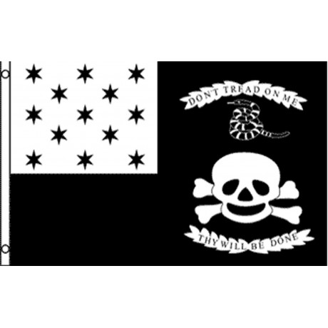 Don't Tread On Me Thy Will Be Done 3' x 5' Polyester Flag