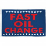 Fast Oil Change 3' x 5' Polyester Flag
