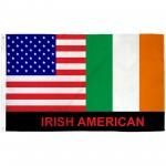 Irish American 3' x 5' Polyester Flag