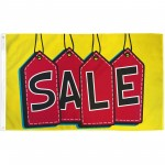 Sale Yellow Red Tags 3' x 5' Polyester Flag