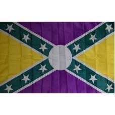 Mardi Gras Battle 3' x 5' Polyester Flag