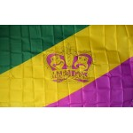 Mardi Gras Crown 3' x 5' Polyester Flag