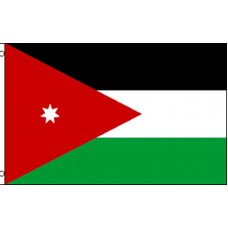 Jordan Country 3' x 5' Polyester Flag