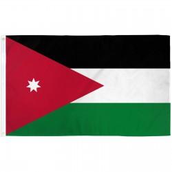 Jordan Country 3' x 5' Polyester Flag