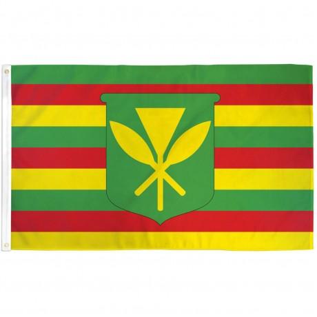 Kanaka Maoli 3' x 5' Polyester Flag