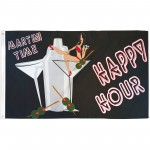 Happy Hour 3' x 5' Polyester Flag
