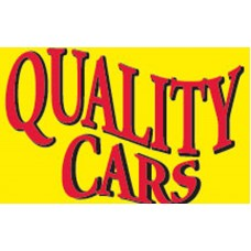 Quality Used Cars Yellow Red 3' x 5' Polyester Flag