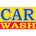 Car Wash Yellow 3' x 5' Polyester Flag