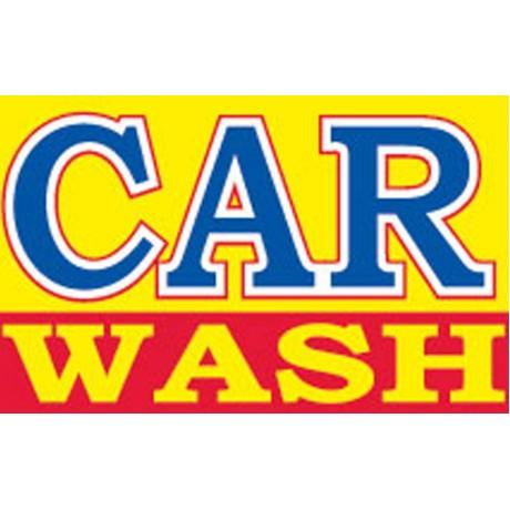 Car Wash Yellow 3' x 5' Polyester Flag