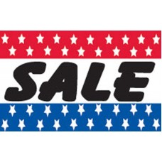 Sale Patriotic Stars 3' x 5' Polyester Flag