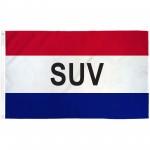 SUV Patriotic 3' x 5' Polyester Flag