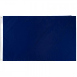 SOLID NAVY BLUE POLY 3' X 5' FLAG