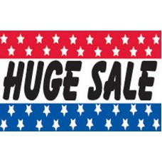 Huge Sale Patriotic Stars 3' x 5' Polyester Flag