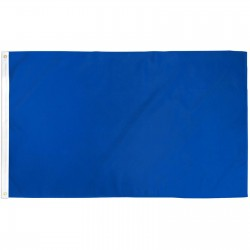 Solid Royal Blue 3' x 5' Polyester Flag