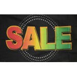Sale Neon 3' x 5' Polyester Flag