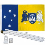 Australia Capital Territory 3' x 5' Polyester Flag, Pole and Mount