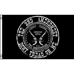 The 2nd Amendment Don't Tread On Me 3'x 5' Flag