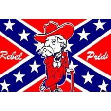 Rebel Pride  3' x 5' Polyester Flag