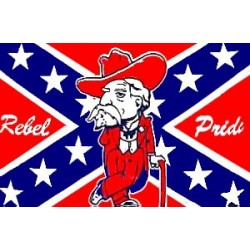 Rebel Pride  3' x 5' Polyester Flag