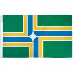 Portland City  3' x 5' Polyester Flag