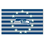 Seattle Seahawks Stars & Stripes 3'x 5' NFL Flag