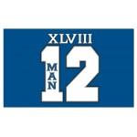 Seattle Seahawks Champions 3'x 5' NFL Flag