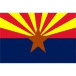 Arizona 3'x 5' State Flag