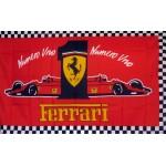 Ferrari #1 Automotive 3'x 5' Flag