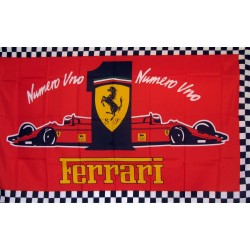 Ferrari #1 Automotive 3'x 5' Flag