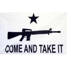 Come And Take It Carbine 3'x 5' Flag