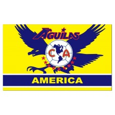 Aguilas Club America Soccer Club 3'x 5' Soccer Flag