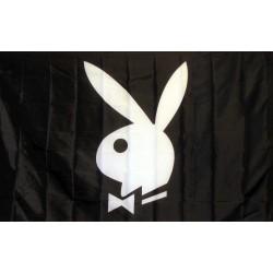 Playboy Bunny Black & White 3'x 5' Flag