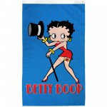 Betty Boop Vertical 3' x 5' Polyester Flag