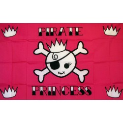 Pirate Princess Premium 3'x 5' Flag
