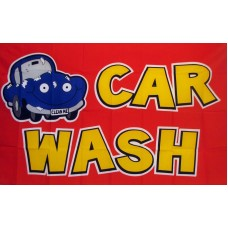 Car Wash 3'x 5' Advertising Flag