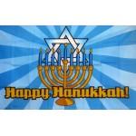 Happy Hanukkah 3' x 5' Polyester Flag