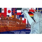 Liberty Island New York 3'x 5' Flag