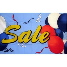 Sale Balloons 3'x 5' Advertising Flag