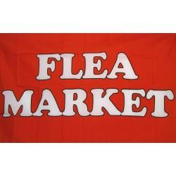 Flea Market Red 3' x 5' Polyester Flag