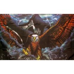 POW-MIA Eagle with Lightning 3' x 5' Flag