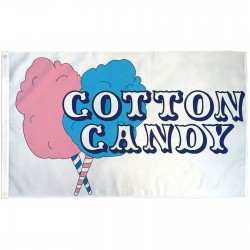 Cotton Candy 3' x 5' Polyester Flag