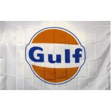 Gulf Oil Gas 3'x 5' Advertising Flag