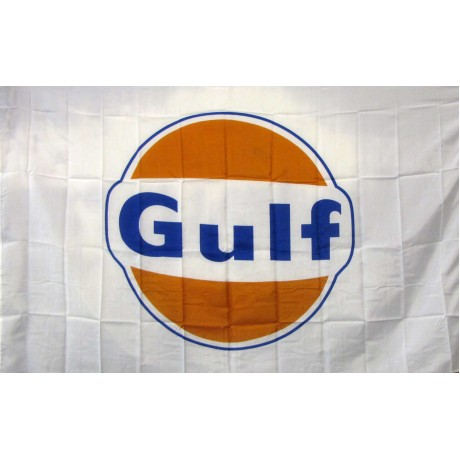 Gulf Oil Gas 3'x 5' Advertising Flag