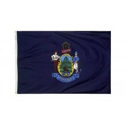 Maine 3'x 5' Solar Max Nylon State Flag