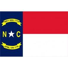 North Carolina 3'x 5' State Flag
