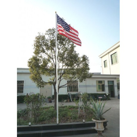 16' Telescoping Aluminum Flag Pole