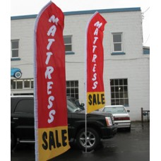 Mattress Giant Swooper 15' Advertising Flags