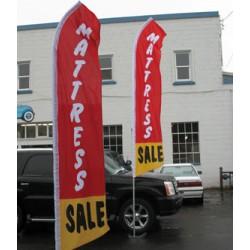 Mattress Giant Swooper 15' Advertising Flags
