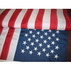 2'x3' Nylon Embroidered American Flag